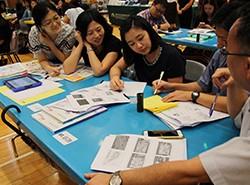 場老師都積極投入創作屬於他們的新版《想不到》。