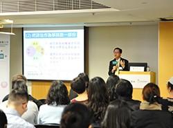 陳瑞良校長示範了怎樣善用提問和評估,提升教學效用。